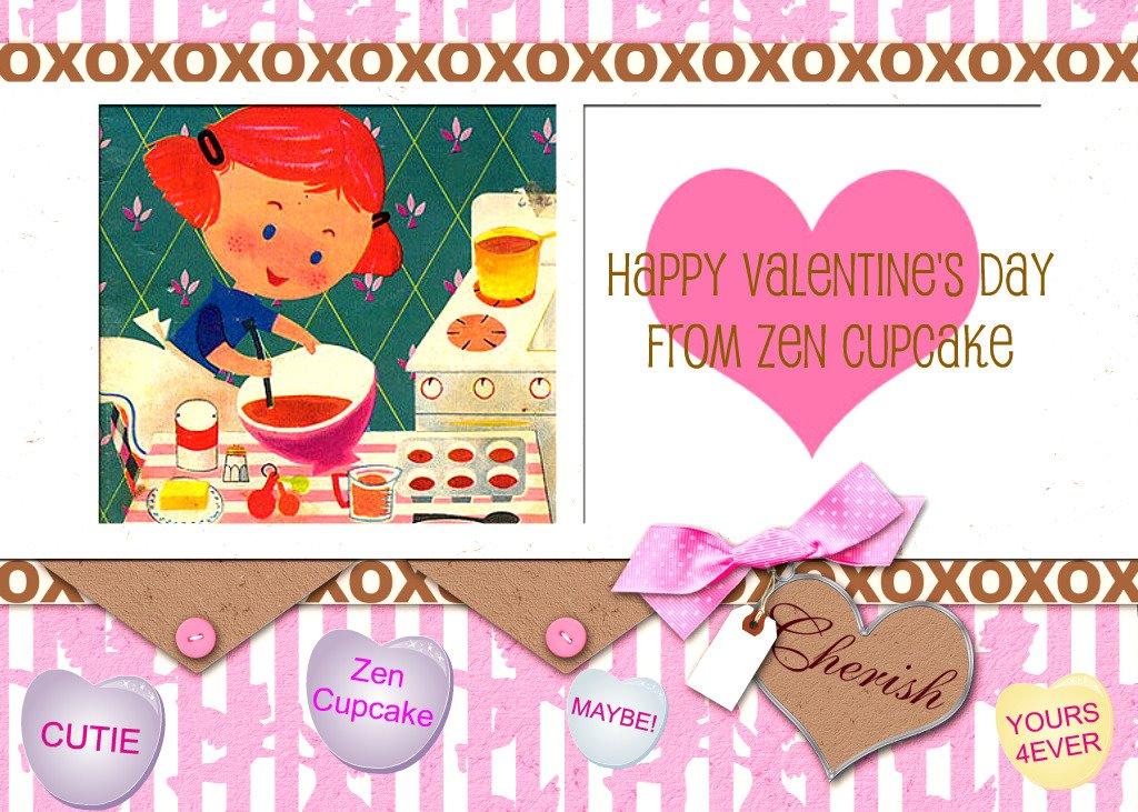 Happy Valentine S Day From Zen Cupcake