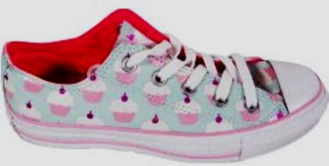 pink cupcake sneakers by converse all