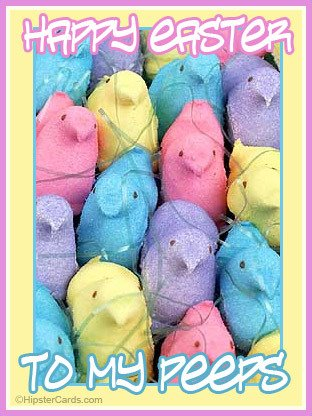Happy Easter To My Peeps From Zen Cupcake